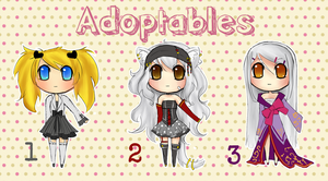 Adoptables Batch 3 by koyame