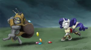 To Catch A Treasure Dog by johnjoseco