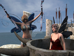 At Esters initiation -  Ingrid and Ester by TERABBS