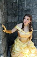 Princess Belle Cosplay - Beauty, but a Funny Girl by SparrowsSongCosplay
