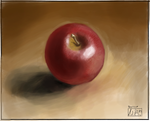 The Red Apple by adireflex