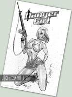 Danger Girl Army Abbey by J-Scott-Campbell