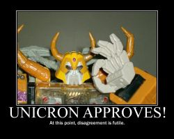 Unicron Approves by wkw427