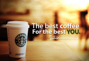 Starbucks Coffee Sustaining Ad by eathan28