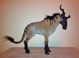 Fantasy Horned Beast Plush Doll by SabrePanther