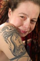 Tattoos, Smiles And Dreads by Maffoo