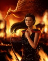 You burn with us by LuzTapia