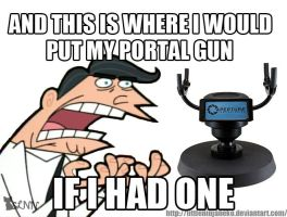 And this is where i would put my portal gun... by LittleNinjaNeko