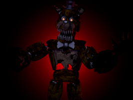 Nightmare Freddy Snapshot 1 HD - HeroGollum by mulloGoreH