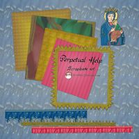 Perpetual Help Scrapbook Kit by caffeine2