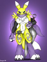 Ninja Renamon by Reagan700