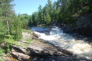 Rapids in Chutes by SheDevilGoddess