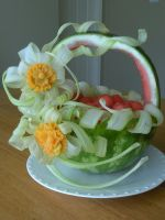 Celery Ribbon Basket by Chuncarv