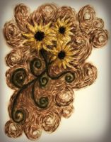 Sunflowers for Vincent by LookAliveZombie