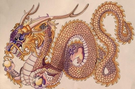 Chinese Dragon by spaqua5