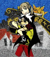 Maka and Soul by titanstargirl