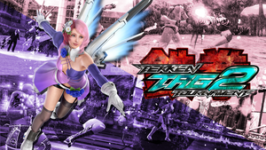 Tekken Tag Tournament 2 - Alisa Wallpaper by Elvin-Jomar