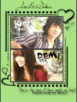 Joe and Demi - Camp Rock by JoeJonasFans92