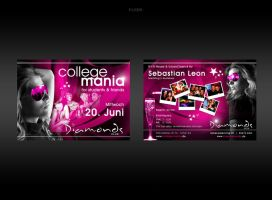 College Mania Flyer by kejdi