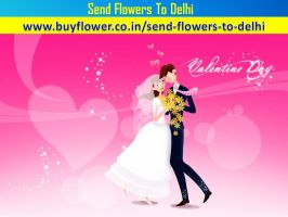 Valentine Day Flowers Delivery In Delhi by delhiValentineday