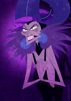 Yzma by DavidGFerrero