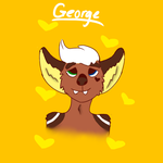 George(He is older here) by redheartradio
