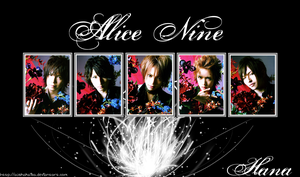 Alice Nine-Hana by AuskaKaiba
