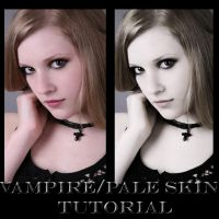 Vampire-Pale Skin Tutorial by Harlequinbeautie