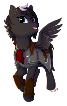 Commission: Jackdaw by C-Puff