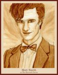 Matt Smith as The Eleventh Doctor by strryeyedreamr27