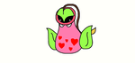 Valentine Victreebell by Frollopocalypse