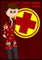 LCL. Hank Miller, RED Medic by LCLMiller