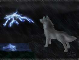 :Praise You In This Storm: by LupusSilvae
