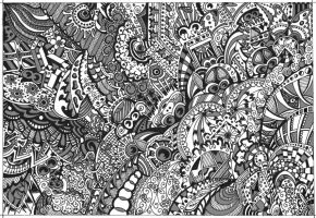 Gray Bad Dream by supersonyk