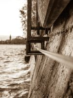 Lake of Constance - windy weather by elDenim