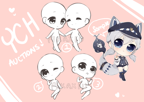 YCH Auctions! [OVER] by pikaxiu