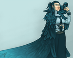 Raven woman by smokewithoutmirrors
