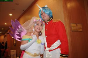 Princess Cadence and Shining Armor Cosplay 2 by tofusnow