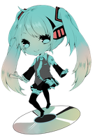 Commission: Miku by Cubic-Factory
