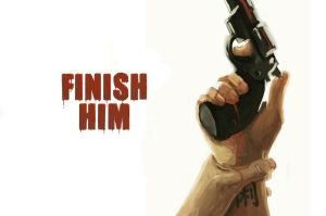 Finish him by Necrondesign
