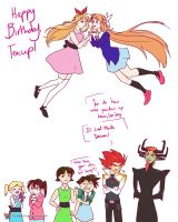 Happy Birthday, Teacup by red-winged-angel