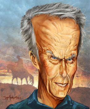 CLINT EASTWOOD by Kalimon789