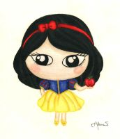 Snow White ~ by Lix-lilac