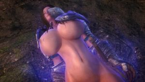 Skyrim: The Sleeper Agent (New Skimpy Armor) RE-UP by blacknessofwhite3D