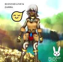 Shining-Link's Awesome DF OC - Zarra COLORED! by BunnyVoid