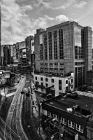 Downtown 1.3 BW by RavenGraphics