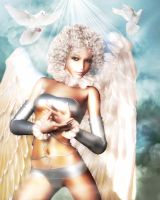 Angel in the Sky by sweetpoison67