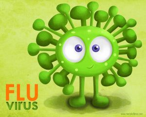 The Flu Virus by KellerAC