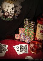 Johnnyspadewear Poker T-shirts 2 by johnnyspadewear