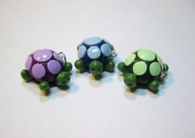 Charms: Turtles by kitcat4056